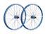 Spank Spike Race28 EVO wheelset 20mm + 12/150mm blue